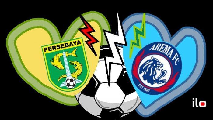 Live Streaming Indosiar Final Leg 1 Piala Presiden Persebaya vs Arema, Kick Off 15.30 WIB