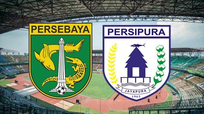 SKOR 0-1 Live Streaming Persebaya vs Persipura, Tendangan Bebas Thiago Amaral Kejutkan Bonek