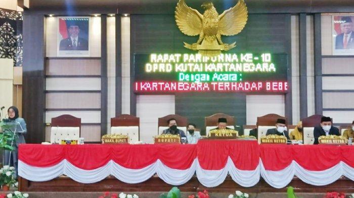 Dua Raperda Disetujui DPRD Kukar, 10 Rancangan Peraturan Daerah Dalam Pembahasan