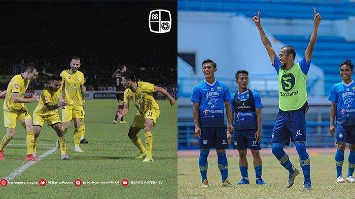 Preview Liga 1 2021 Akhir Pekan Ini, Persib Bandung vs Barito Putera, PSS vs Persija, Susunan pemain