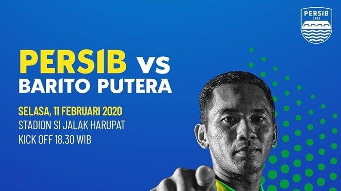 BERLANGSUNG, Link Live Streaming Persib Bandung vs Barito Putera, Laga Reuni Djadjang Nurdjaman
