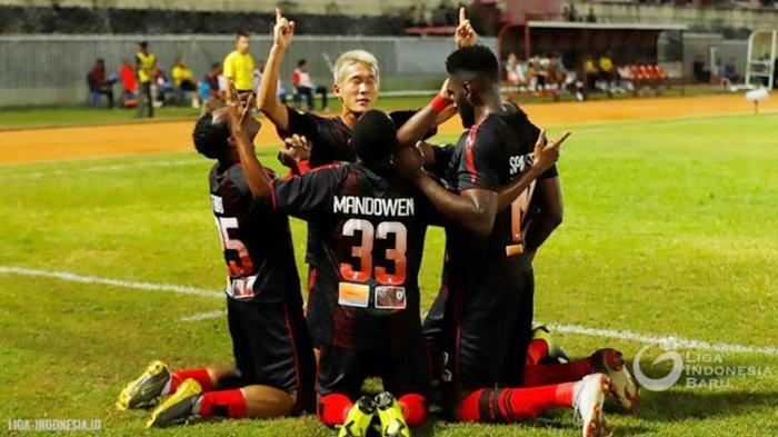 Kalahkan Madura United 1-0, Jacksen F Thiago Bawa Persipura Ukir Kemenangan Perdana di Liga 1 2019