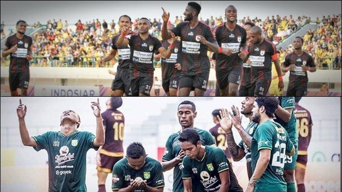 Link Live Streaming TV Online Persipura vs Persebaya, Tonton di HP via vidio.com dan Indosiar
