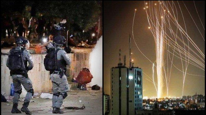 Roket Jenis Baru Pejuang Palestina Menakutkan, Hamas Buat Iron Dome Kebanggaan Israel tak Berdaya