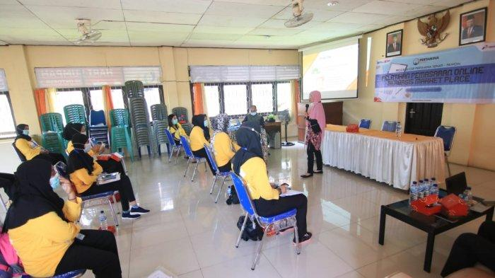 Pertamina Gelar Pelatihan Pemasaran Online Berbasis Market Place di Balikpapan