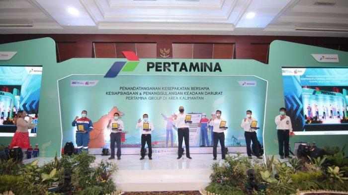 Pertamina Group Sinergikan Kesiapsiagaan dan Penanggulangan Keadaan Darurat di Wilayah Kalimantan