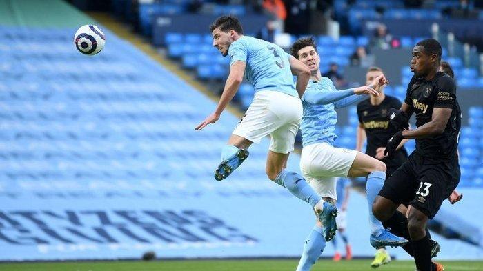 Hasil Liga Inggris Man City vs West Ham, John Stones Bawa The Citizens Kian Kokoh di Puncak Klasemen