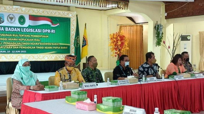 Kaltara Bakal Punya Pengadilan Tinggi Agama, Baleg DPR RI Sambang ke Kota Tarakan