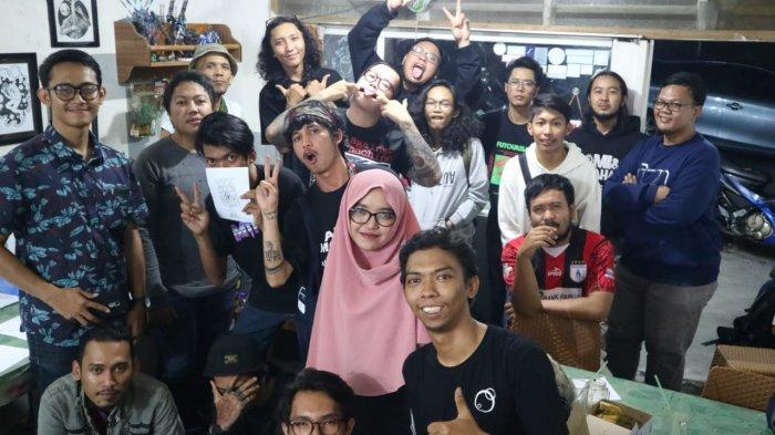 Beberapa peserta Kelas Barbar di Kota Balikpapan, Kalimantan Timur.