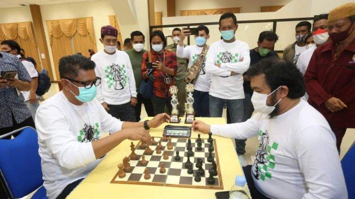 Turnamen Catur ke-4 Wali Kota Bontang Cup, Basri Rase Harap Bisa Jaring Atlet Profesional