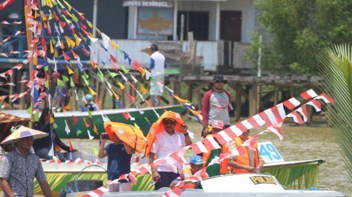 Pesta Laut Muara Bengalon; Ada Lomba Perahu Hias, Makanan Olahan Ikan, dan Mancing