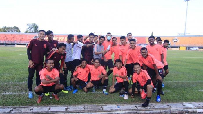 Selama Wabah Virus Corona, Pemain Borneo FC Diwajibkan Berlatih Sendiri Minimal 30 Menit Setiap Hari