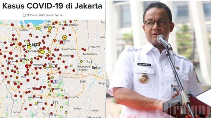 Kasus Virus Corona di Wilayah Anies Baswedan Meningkat, Jakarta Sudah Siapkan Skenario Terburuk