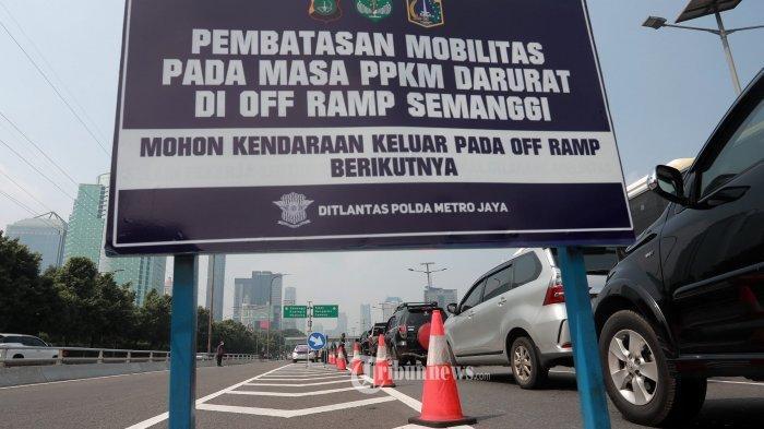 PPKM Darurat Diperketat, Pekerja Sektor Esensial dan Kritikal tak Bisa Lagi Bebas Melintas