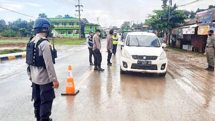 Samarinda Bukan Masuk PPKM Level 4, Polisi Tegaskan Pola Penyekatan Tetap Berlangsung