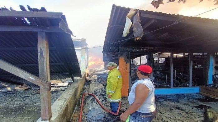 Setelah1,5 Jam Berkobar Kebakaran di Gunung Lingkas Tarakan Akhirnya Bisa Dipadamkan