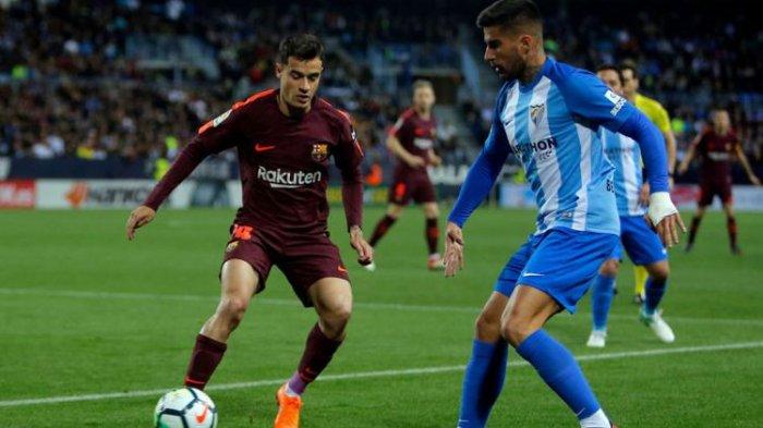 Messi Absen, Suarez-Coutinho Menangkan Barcelona, Inilah Hasil Liga Spanyol