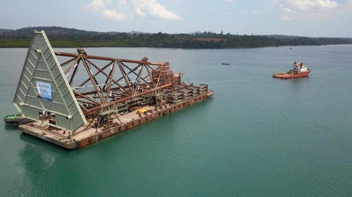 Pertamina Hulu Mahakam Mulai Proses Sail Away Jacket Proyek JSN
