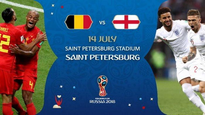 Jelang Belgia vs Inggris Pukul 21.00 WIB, Berikut 5 Fakta Menarik Kedua Tim