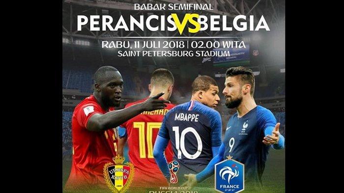 Tekuk Belgia 1-0, Perancis Melaju ke Final Piala Dunia 2018