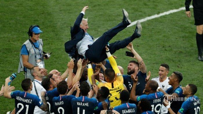 Prancis Raih Tropi Piala Dunia, Sang Pelatih Ungkap Rahasia Bisa Kalahkan Kroasia
