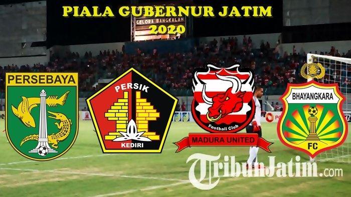 Jadwal Kick Off Piala Gubernur Jatim, Persebaya vs Persik Kediri dan Andik Vermansah Hadapi Mantan