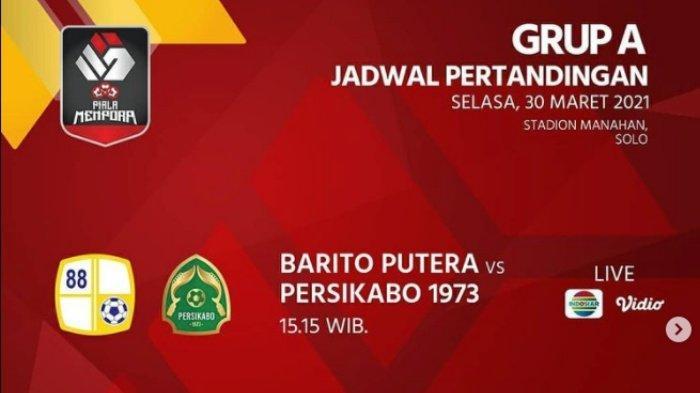 Piala Menpora 2021 Barito Putera vs Persikabo, Misi Laskar Antasari Lolos 8 Besar, Live Indosiar