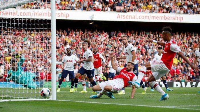 Live Streaming Liga Inggris, Leicester City vs Arsenal, Aubameyang vs Solidnya Permainan The Foxes