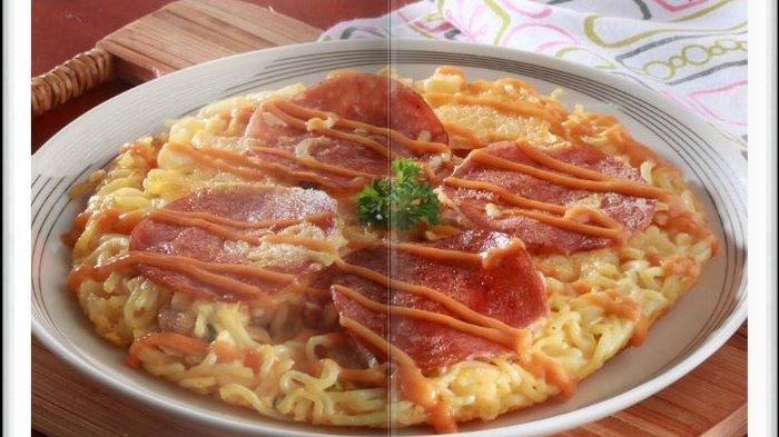 Cara Bikin Pizza Mi Super Enak, Kreasi Menu Sarapan Hari ini, Keluarga Pasti Suka