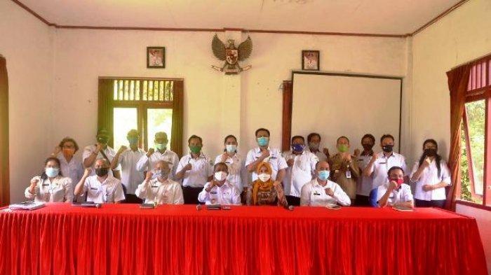 Sudah 90 Persen, Pjs Bupati Kubar Cek Tahapan Persiapan Pilkada di Kecamatan Nyuatan