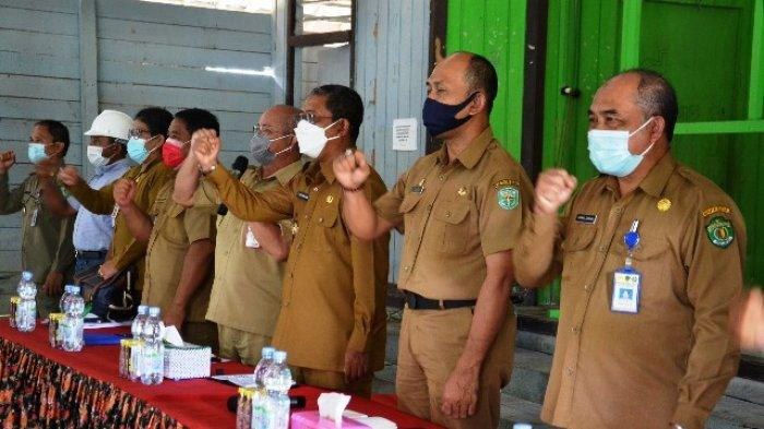 Pantau Persiapan Pilkada, Pjs Bupati Kunjungi Kecamatan Damai