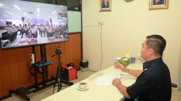 Buka Rakerda, Pjs Gubernur Berharap Pramuka Jadi Motor Penggerak Percepatan Penanganan Covid-19