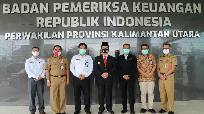 Kunjungi Kantor BPK Kaltara, Pjs Gubernur Berharap Rekomendasi BPK Ditindaklanjuti OPD Tepat Waktu