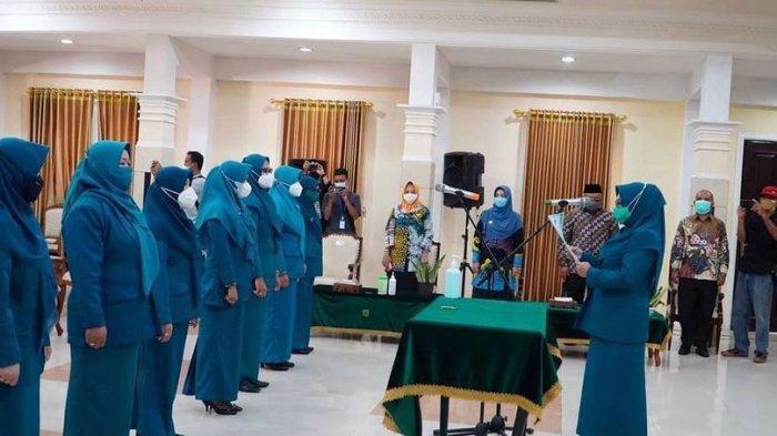 Tujuh Ketua TP PKK Kecamatan di Kabupaten Berau Dilantik