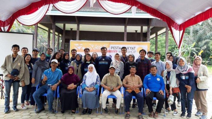 Lestarikan Kearifan Lokal, Pupuk Kaltim Dukung Pesta Rakyat dan Workshop di Kampung Adat Guntung