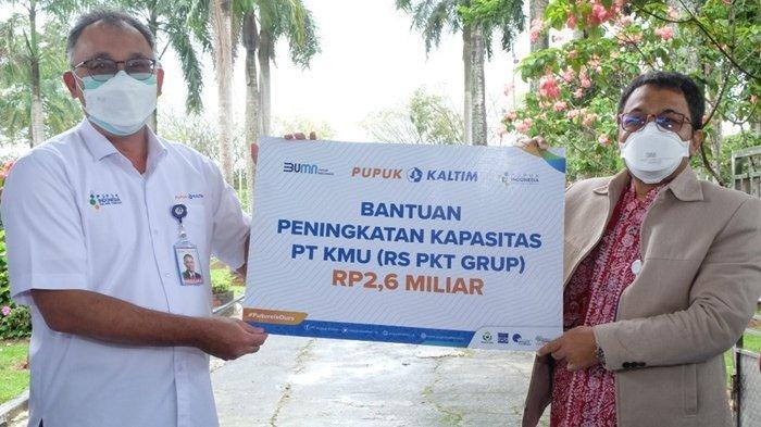 Pupuk Kaltim Tingkatkan Kapasitas RS PKT Group Rp 2,6 Miliar