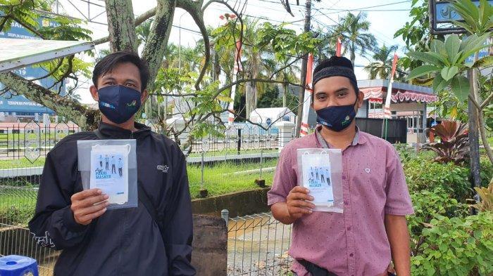 PLN UIW Kaltimra turut berkontribusi aktif dalam mendukung kampanye pemerintah terkait disiplin menggunakan masker.