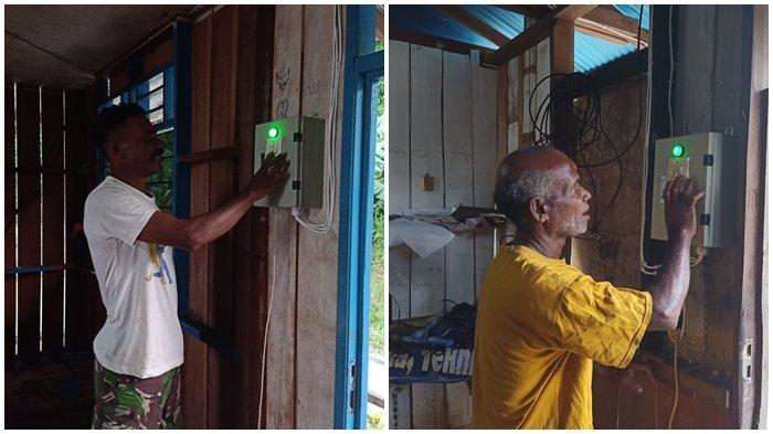 Salurkan Baterai dan Stasiun Pengisian Listrik, PLN Terangi 11 Kampung di Kepulauan Yapen Papua