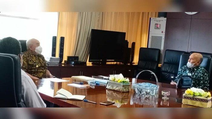Laporkan Pembangunan Proyek PIK, PLN UIP Kalbagtim Sowan ke Gubernur Kaltim