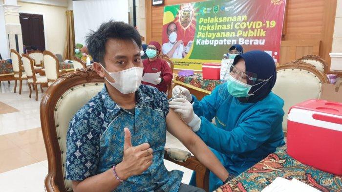 24 Pegawai dan Alih Daya PLN UPP Kitring Kalbagtim 2 Divaksinasi, Patuh Prokes Covid-19