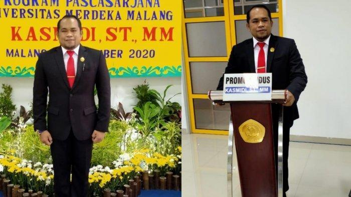 Usung Tarian Hudoq Dalam Disertasinya, Plt Bupati Kutim Kasmidi Bulang Sandang Gelar Doktor