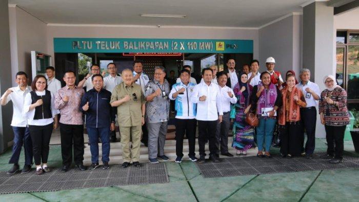 Dikunjungi Rombongan Komisi VII DPR RI Manajemen PLN Balikpapan Curhat Kondisi Kelistrikan di Kaltim