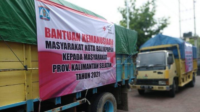 Bantuan Logistik 7,8 Ton Siap Angkut, PMI Balikpapan Kembali Distibusikan ke Korban Banjir Kalsel
