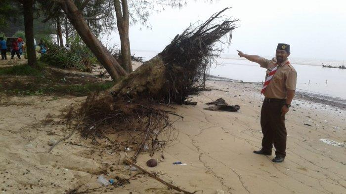 Abrasi Masih Menghantui Pantai di Balikpapan, Disporapar akan Ajukan Anggaran Perbaikan