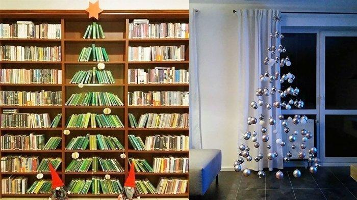 Deretan Ide Kreasi Pohon Natal Kreatif dan Unik yang Buat Suasana Natal Makin Berkesan