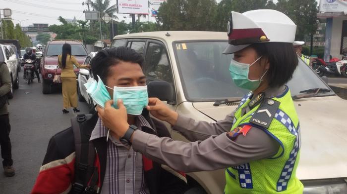 Jadwal Penerapan Sanksi Tidak Pakai Masker di Samarinda, Pelanggar akan Disidang Yustisi