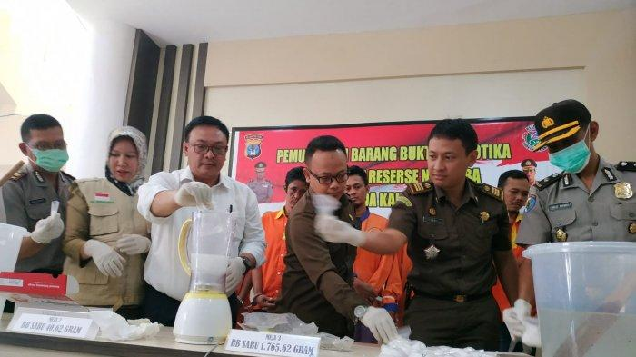 Polda Kaltara Ungkap Barang Bukti 1,8 Kg Sabu Sabu, 1 Bandar Jaringan Internasional Tersangka
