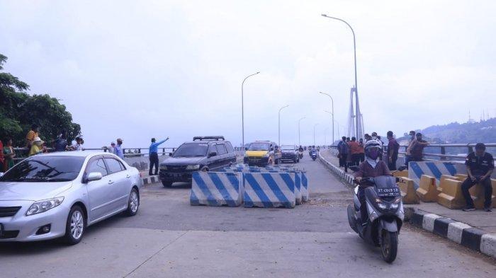 Dishub Samarinda Turunkan Personel di Dua Segmen Jembatan Achmad Amins, Dibagi Tiga Shift