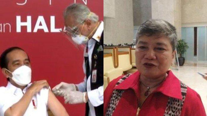 Terjawab, Ribka Tjiptaning yang Tolak Vaksin Ternyata Dokter, Dimarahi Hasto, PDIP Tak Tinggal Diam