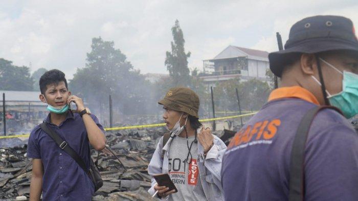 Kejanggalan Peristiwa Kebakaran Pasar Citra Mas Lok Tuan, Kini Tahap Penyelidikan Polres Bontang